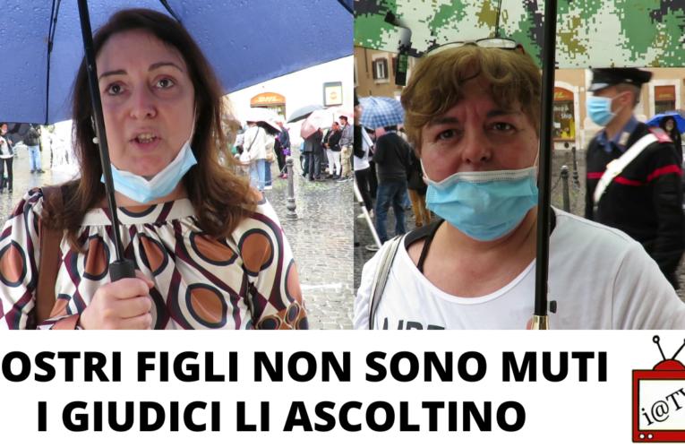 13-06-2020 I NOSTRI FIGLI NON SONO MUTI: I GIUDICI LI ASCOLTINO!
