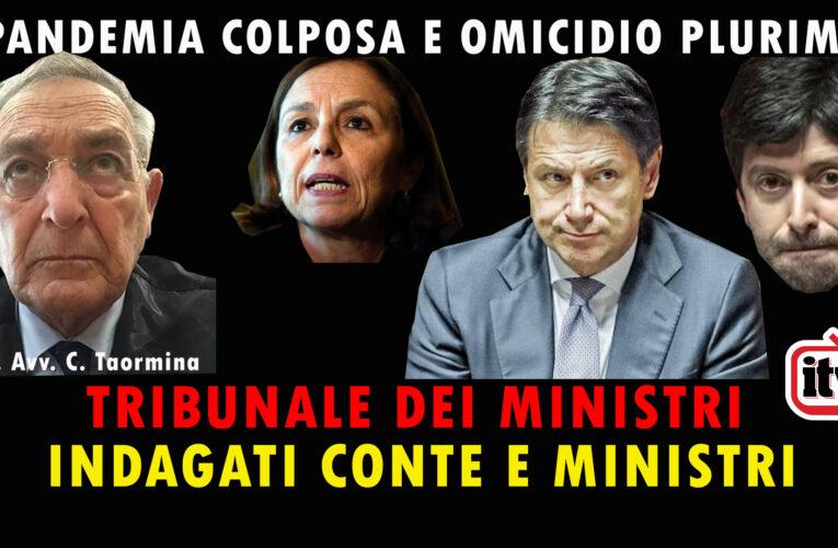 25-07-2020 PANDEMIA COLPOSA E OMICIDIO PLURIMO: INDAGATI CONTE E MINISTRI (Prof. C. Taormina)