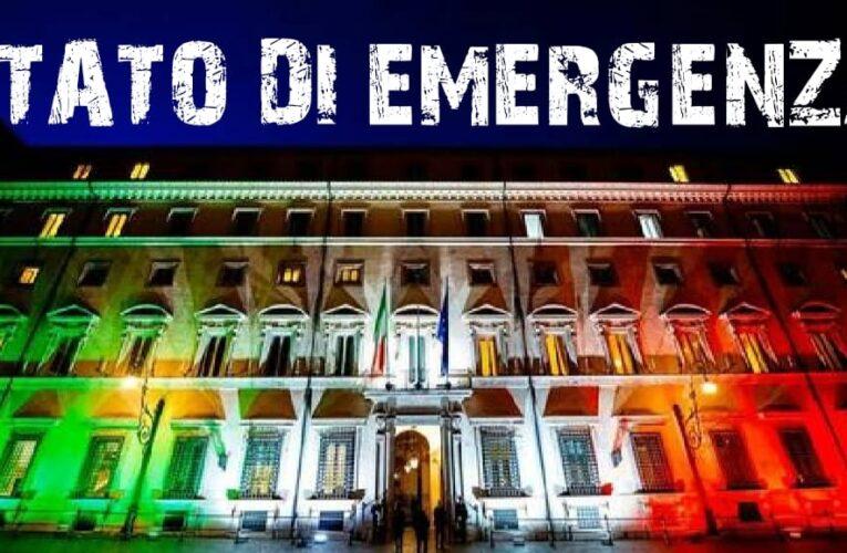 30-07-2020 NO ALLA PROROGA DELLO STATO D'EMERGENZA SABATO 1 AGOSTO PROTESTA SUI SOCIAL NETWORK E IN RETE