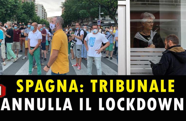 13-07-2020 SPAGNA: TRIBUNALE ANNULLA IL LOCKDOWN