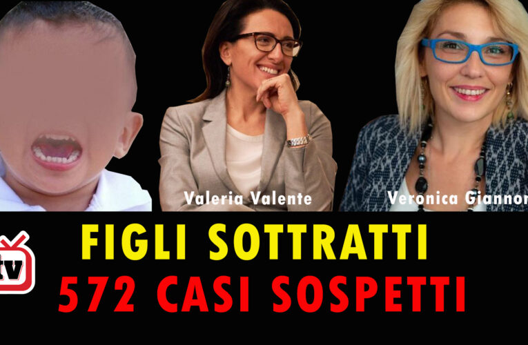 15-08-2020 FIGLI SOTTRATTI 572 CASI SOSPETTI
