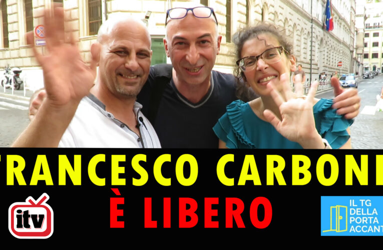 17-08-2020 FRANCESCO CARBONE È LIBERO