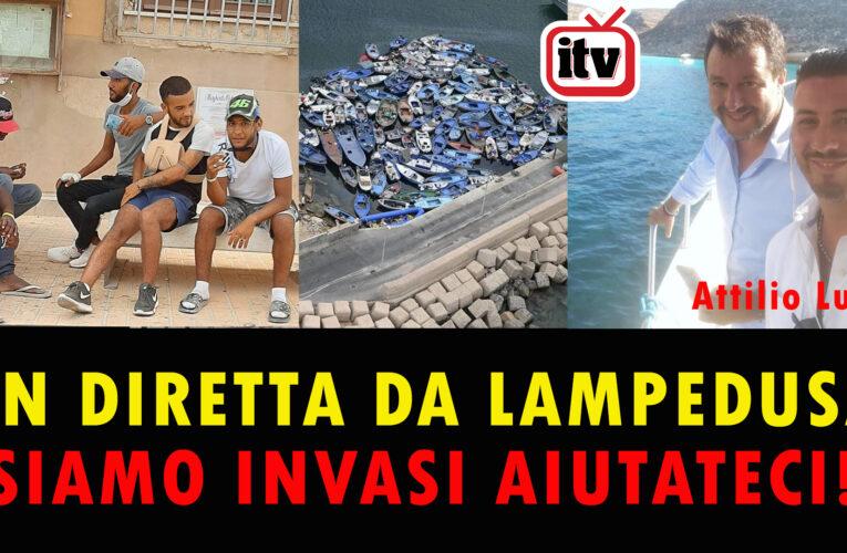 23-08-2020 S.O.S. DA LAMPEDUSA: SIAMO INVASI AIUTATECI (Attilio Lucia)