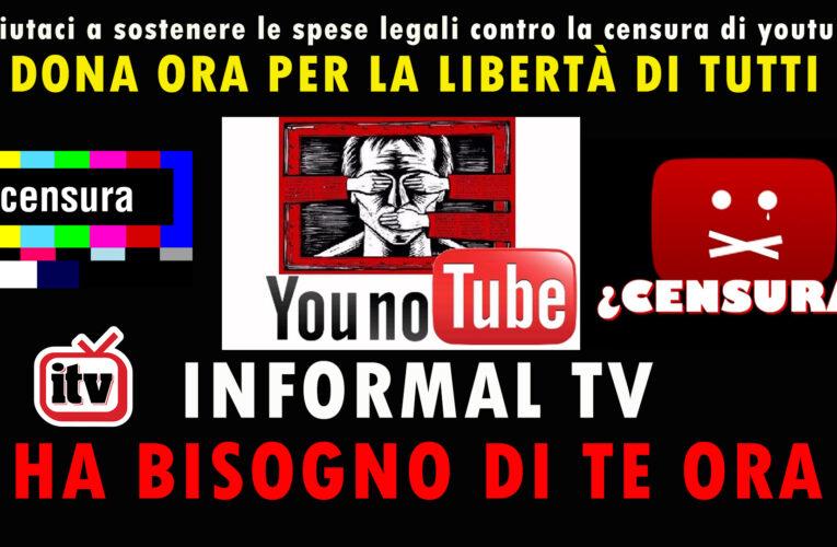 08-08-2020 INFORMAL TV HA BISOGNO DI TE ADESSO!