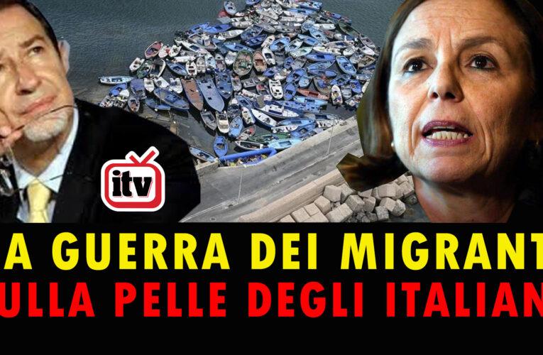 25-08-2020 LA GUERRA DEI MIGRANTI SULLA PELLE DEGLI ITALIANI