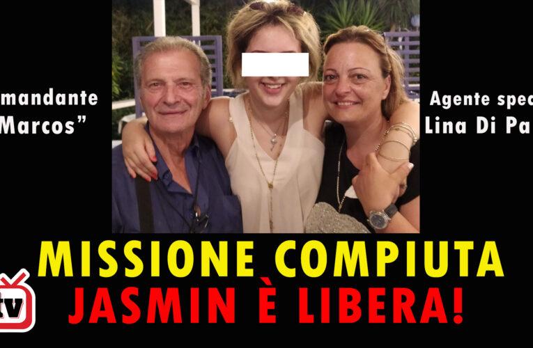 01-08-2020 MISSIONE COMPIUTA: JASMIN È LIBERA!