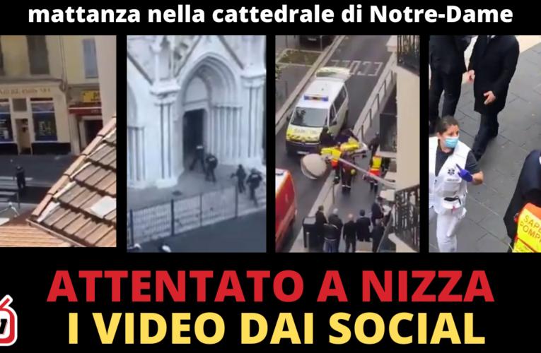 29-10-2020 ATTENTATO DI NIZZA: I VIDEO DAI SOCIAL