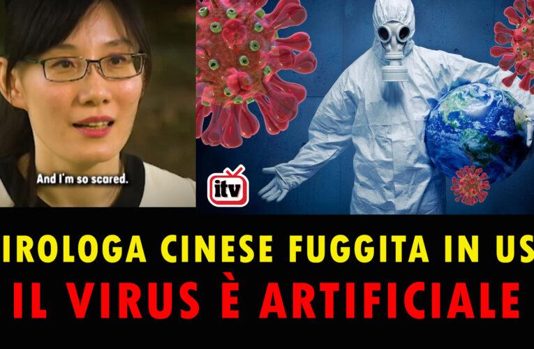 05-10-2020 IL VIRUS È STATO CREATO DALLA CINA (secondo la virologa cinese fuggita in USA)