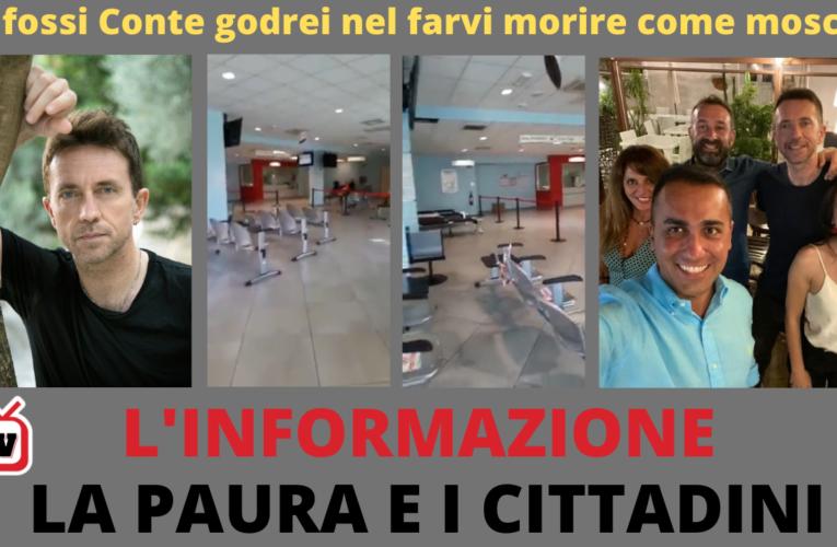 28-10-2020 L'INFORMAZIONE, LA PAURA E I CITTADINI