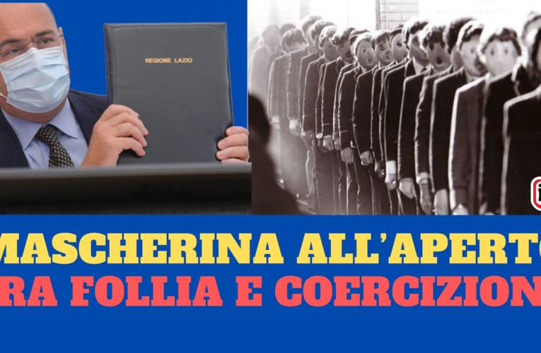 06-10-2020 MASCHERINA ALL'APERTO: TRA FOLLIA E COERCIZIONE