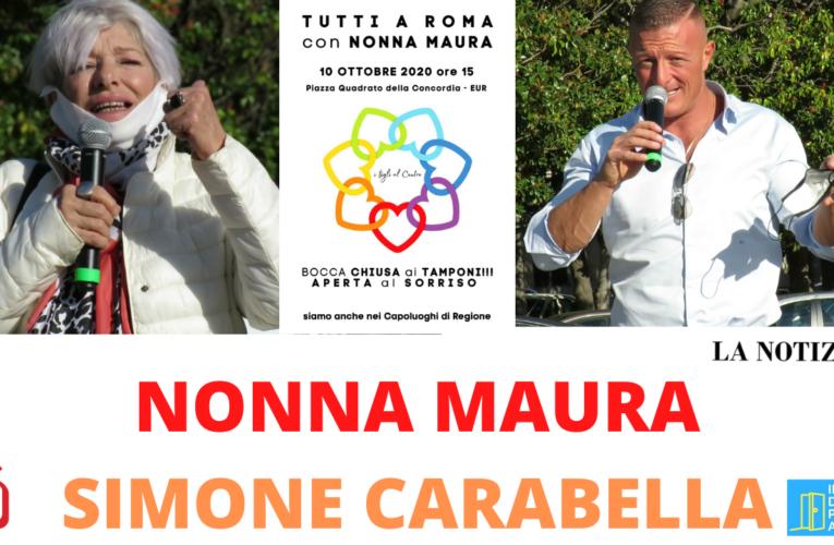 13-10-2020 NONNA MAURA E SIMONE CARABELLA