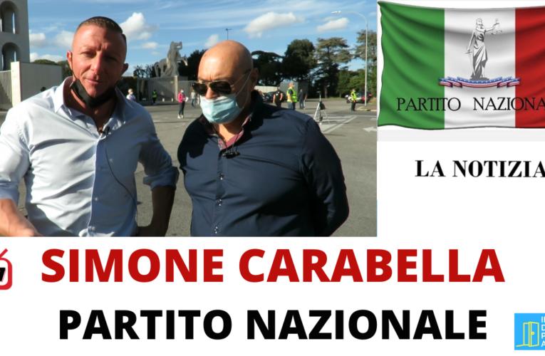 12-10-2020 SIMONE CARABELLA – PARTITO NAZIONALE