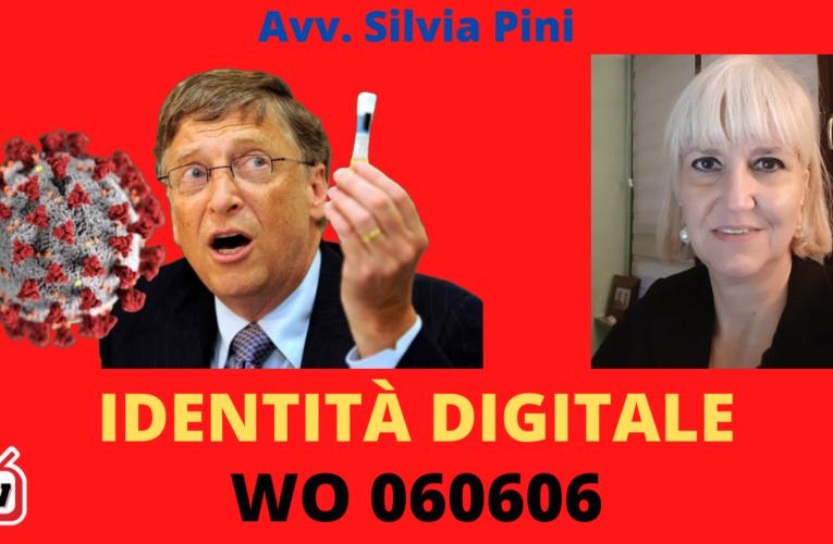 11-11-2020 IDENTITÀ DIGITALE WO 060606 (Avv. Silvia Pini)
