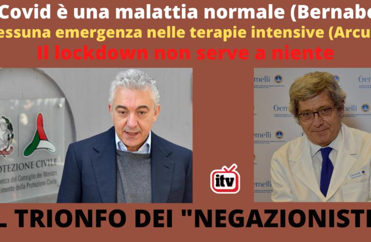 """16-11-2020 IL TRIONFO DEI """"NEGAZIONISTI"""""""