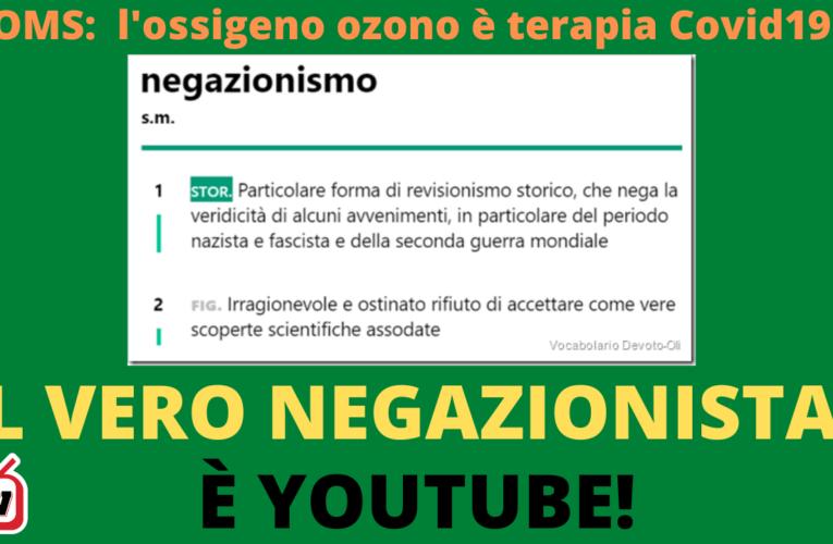 04-11-2020 IL VERO NEGAZIONISTA È YOUTUBE!