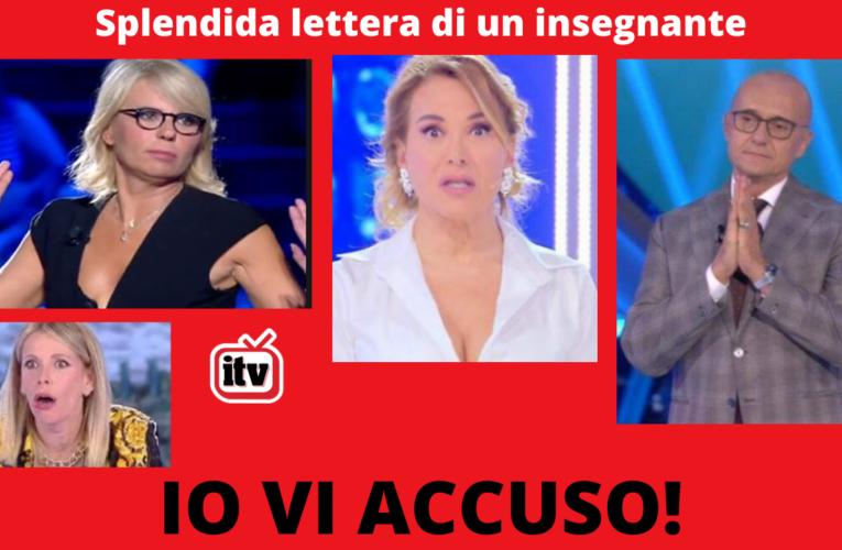 27-11-2020 IO VI ACCUSO! (D'Urso, Signorini, De Filippi, Marcuzzi)