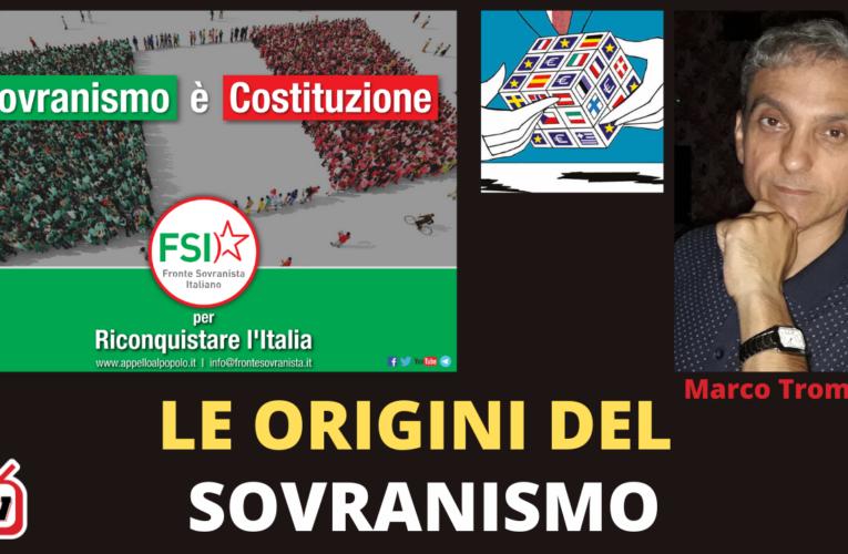 13-11-2020 LE ORIGNI DEL SOVRANISMO (Marco Trombino FSI)