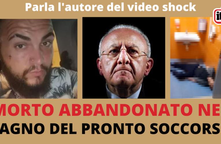 15-11-2020 MORTO ABBANDONATO NEL BAGNO DEL PRONTO SOCCORSO