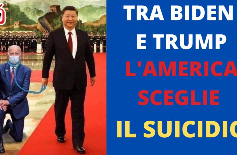 08-11-2020 TRA BIDEN E TRUMP L'AMERICA SCEGLIE IL SUICIDIO