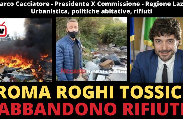 09-11-2020 ROMA ROGHI TOSSICI E ABBANDONO RIFIUTI (Marco Cacciatore)