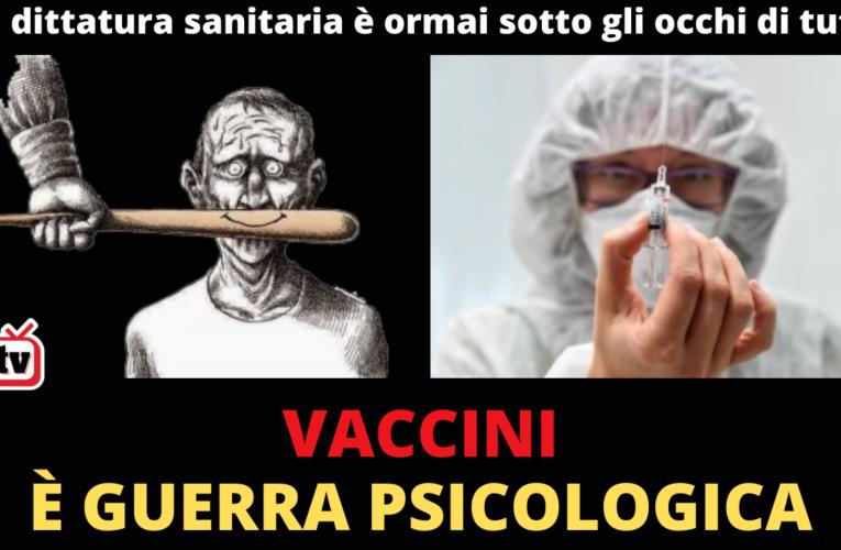 01/12/2020 VACCINI: È GUERRA PSICOLOGICA