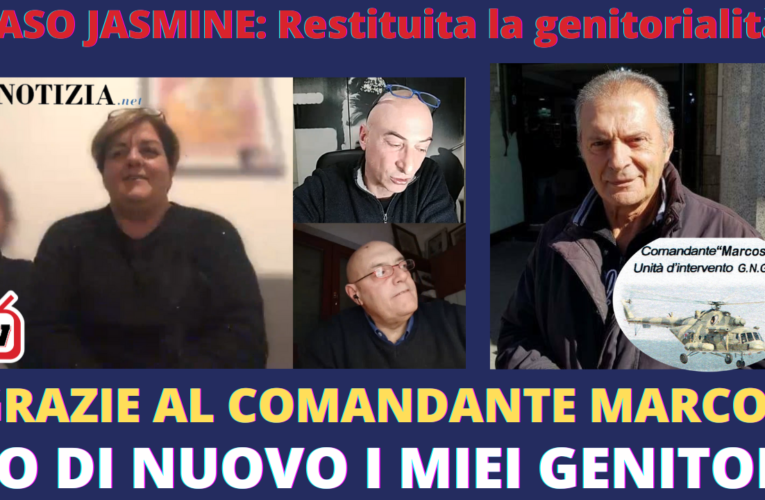 23-01-2021 GRAZIE A MARCOS SONO TORNATA A CASA