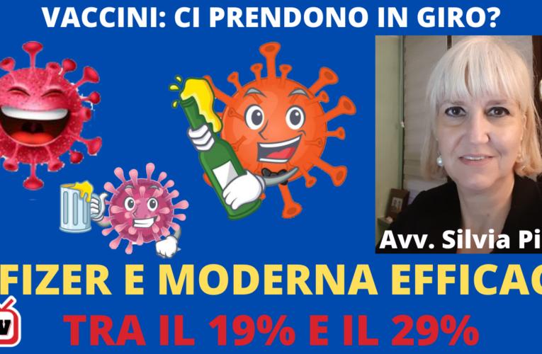 14-01-2020 EFFICACIA DEI VACCINI: CI PRENDONO IN GIRO? (Avv. Silvia Pini)