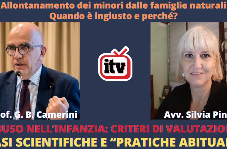14-02-2021 FIGLI SOTTRATTI: QUANDO L'ALLONTANAMENTO È INGIUSTO? (Prof. G.B. Camerini e Avv. S. Pini)
