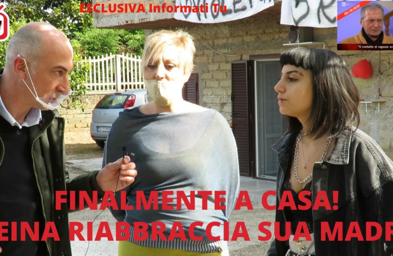 19-04-2021 FINALMENTE A CASA! REINA RIABBRACCIA SUA MADRE