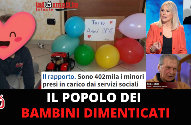 28-04-2021 IL POPOLO DEI BAMBINI DIMENTICATI