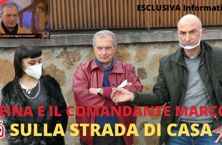17-04-2021 SULLA STRADA DI CASA (Reina e il Comandante Marcos)