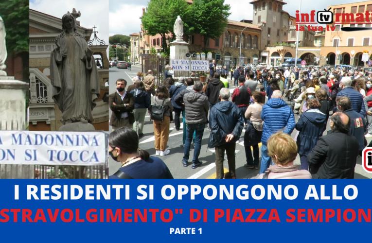 03-05-2021 NO ALLO STRAVOLGIMENTO DI PIAZZA SEMPIONE (Parte 1)