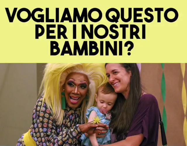 19-05-2021 VOGLIAMO QUESTO PER I NOSTRI BAMBINI? ( Pro Vita & Famiglia)