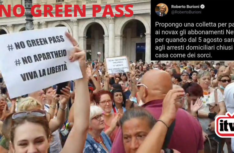 NO GREEN PASS (La protesta nelle piazze)