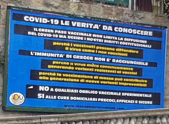 VACCINI, GREEN PASS E DIRITTI UMANI