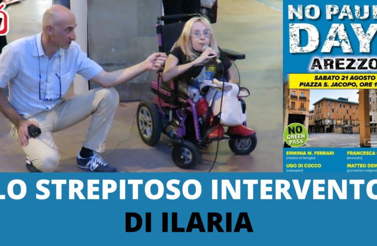 LO STREPITOSO INTERVENTO DI ILARIA