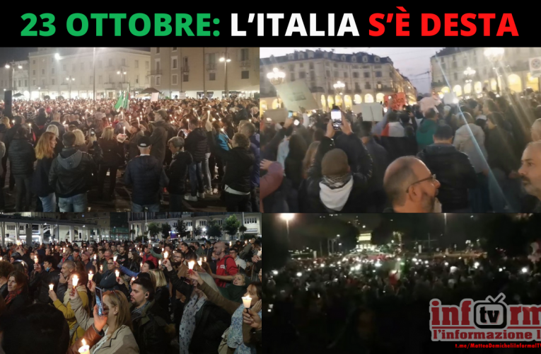 23 OTTOBRE: L'ITALIA S'È DESTA